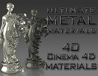 Cinema 4D Ultimate Metal Materials Pack