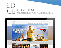 EDGE Film Website Design Alternative