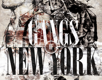 Gangs of New York movie poster re-design