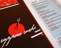 Branding: Sapporo Sushi