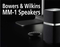 Bowers & Wilkins MM-1 Speakers