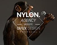 Nylon Agency website