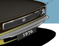 Custom Car - Morris Marina 1976