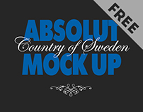 Absolut mock up free