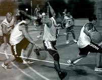 Shootin' Hoops  (basketball court session)