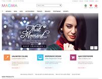 MAGMA - Fashion Responsive Magento Template