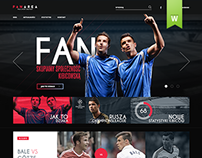 Football Fan Site & Shop