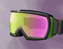 Snow goggle studies
