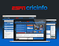 ESPN Cricinfo | Sports Website Redesign
