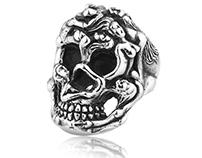 Badass Skull Rings