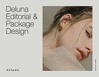 deluna | Editorial & Packaging Design