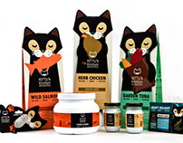 Kitty's Kitchen Cat Food Line