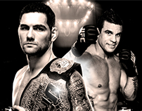 UFC: Chris Weidman vs Vitor Belfort.