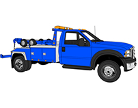 Tow Truck - Vector Image