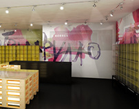 KORRES NATURAL PRODUCT SHOPS INTERIORS