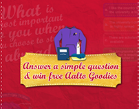 Participate & win free Aalto Goodies