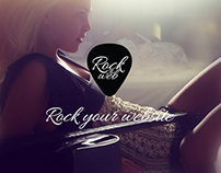 Rock The Web Logo