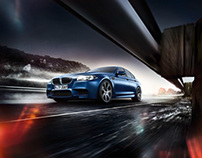 Postproduction BMW M5