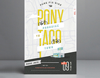 Cycling Event Poster Collection