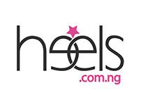 Heels.com.ng Branding.