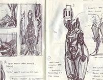 2013 Sketchbooks