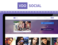 VDO Social - Video Social Network Design