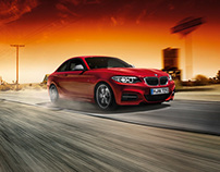 Postproduction BMW 2er