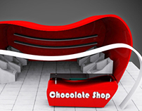 3D CHOCOLATE SHOP DESIGN
