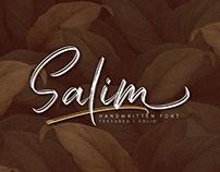 Salim - Handwritten Font (FREE FONT)
