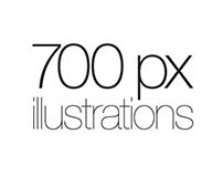 700px Illustrations