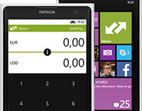Windows Phone - Valuta+ (concept)