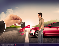 Al Ahli driving center-Creative flyer