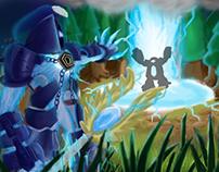 League of Legends Digi-Art Throwdown