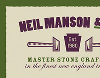 Neil Manson Business Card