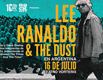 Lee Ranaldo & The Dust en Argentina Poster