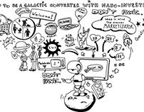 Whiteboard illustration for Marketizator