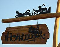Hobbledown branding