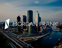 Morgan Frank logo & web