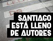 Campaña - Santiago está lleno de autores - FILSA