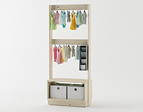 Beka Hanger Rack for Kids // LUFE