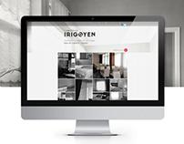 Cortinas Irigoyen/ Brand/ Web Design/ Programming