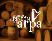 VINATERÍA EL RINCÓN DEL ARPA   •   Branding