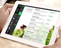 UI Concept: Restaurant Cart