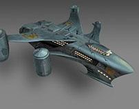 Starship Concept-art