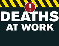 Death at Work Infographic