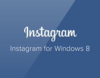 Instagram for Windows 8 (concept 1)