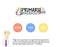 Primary Breakout Game