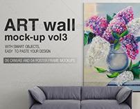 Art Wall Mock-up Vol.3