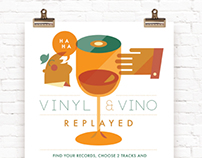 Vinyl & Vino Replayed