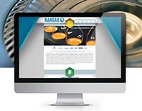 Nanoar / Brand/ Web Design/ Programming